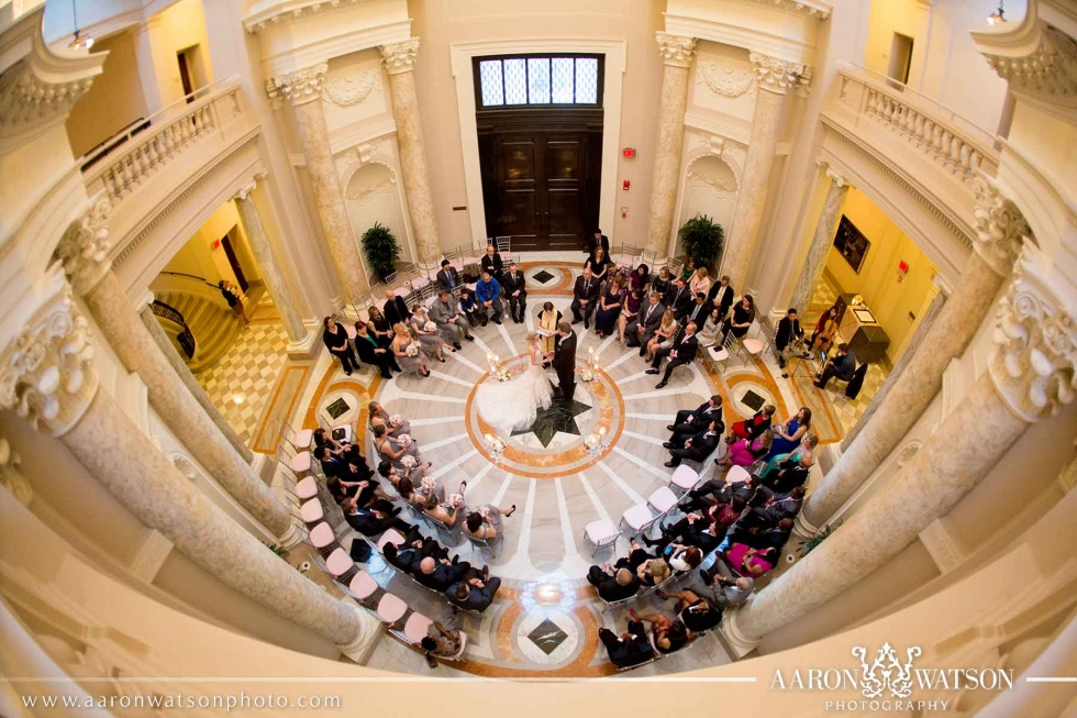 Circle Ceremony Set Up