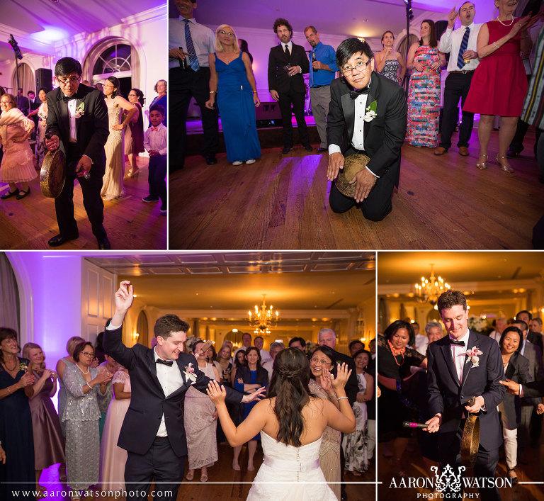 Keswick Hall Wedding Reception Aaron Watson Photography
