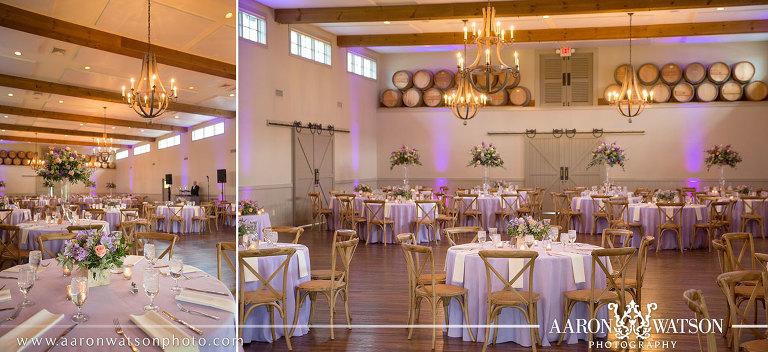 Lavender Wedding King Family Vineyards Aaron Watson Photography
