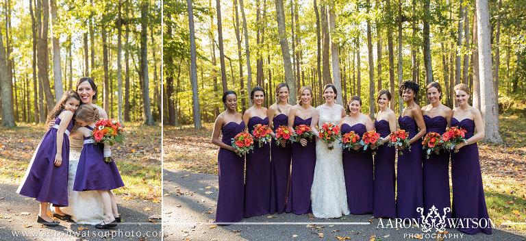 Fall Richmond Virginia Wedding By Aaron Watson Photography